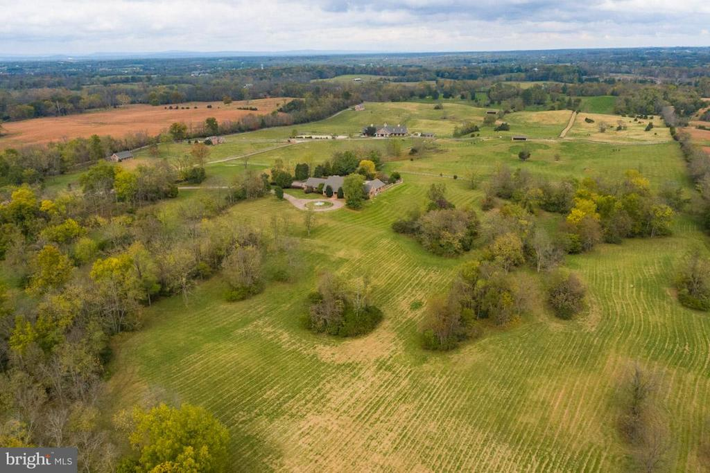 Partial view of of the 111.89 acre estate - 6586 JOHN MOSBY HWY, BOYCE
