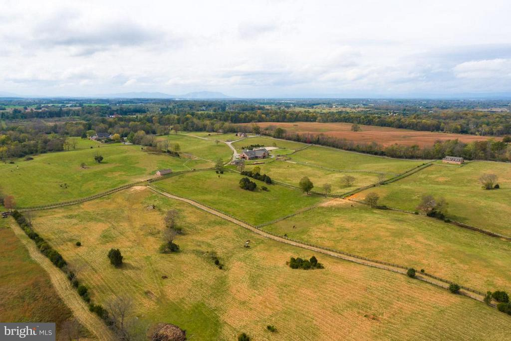 Partial view from rear of the 111.8 acre property - 6586 JOHN MOSBY HWY, BOYCE