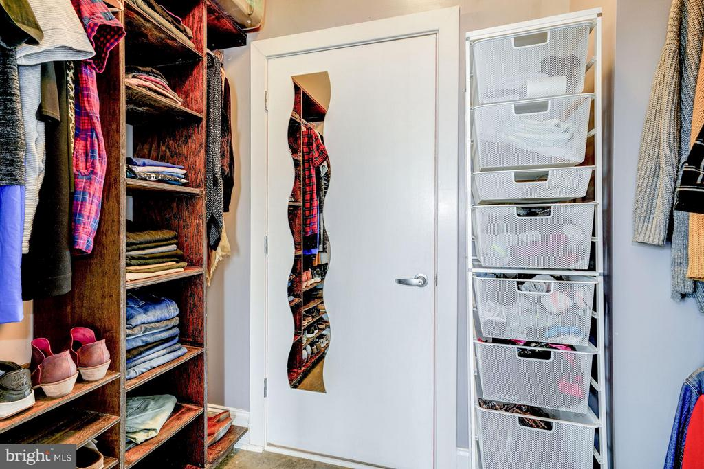 Walk-In Closet - 1000 NEW JERSEY AVE SE #1115, WASHINGTON