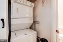 Laundry In-unit - 1000 NEW JERSEY AVE SE #1115, WASHINGTON