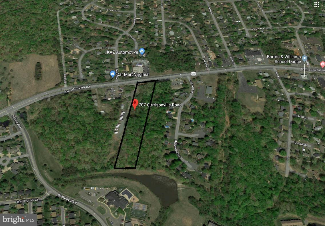Land for Sale at 707 Garrisonville Rd Stafford, Virginia 22554 United States