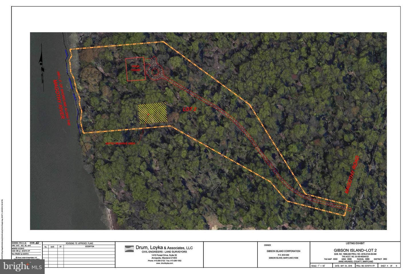 Land for Sale at 430 Magothy Rd Gibson Island, Maryland 21056 United States