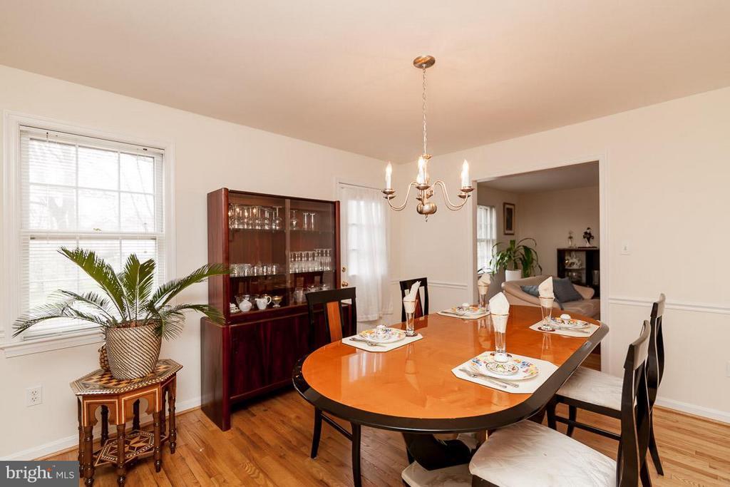 Dining Room - 5202 BRADWOOD ST, SPRINGFIELD