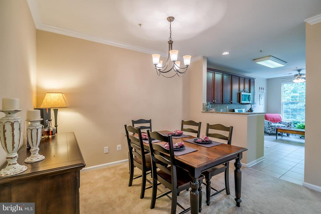 Plenty of Room for a Large Table - 20385 BELMONT PARK TER #116, ASHBURN