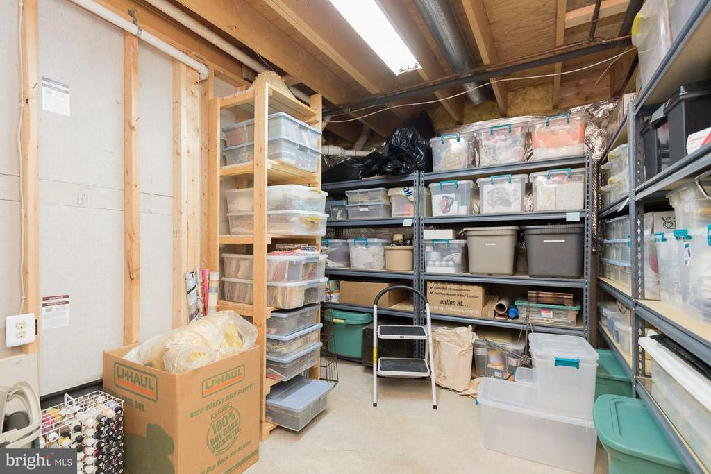 Storage Room in Basement - 13781 CORONADO CT, MANASSAS