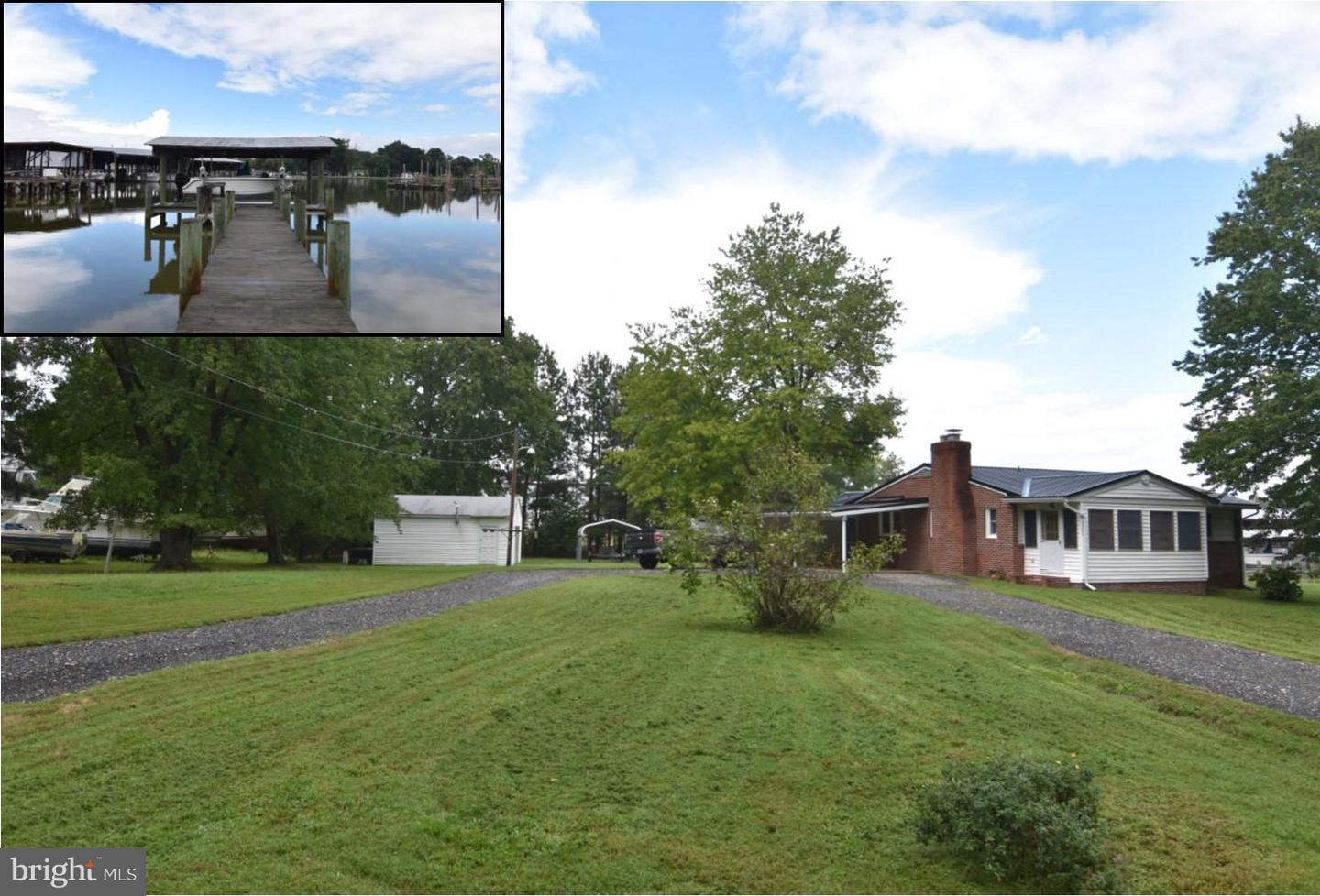 Single Family for Sale at 38000 Ed Brown Rd Coltons Point, Maryland 20626 United States