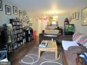 Living Room - 3176 SUMMIT SQUARE DR #4-A4, OAKTON
