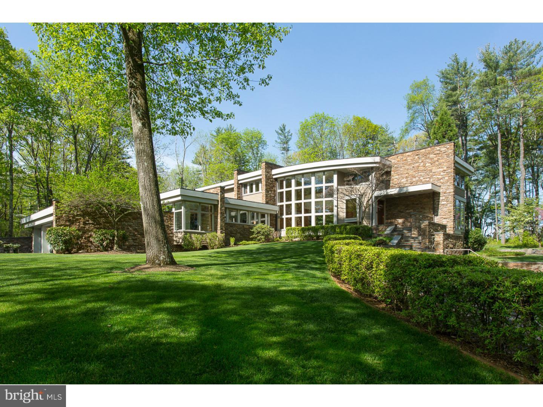 Maison unifamiliale pour l Vente à 190 WOOSAMONSA Road Pennington, New Jersey 08534 États-UnisDans/Autour: Hopewell Township