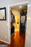Walk-in Master closet attaches to Master Bath - 4551 STRUTFIELD LN #4332, ALEXANDRIA