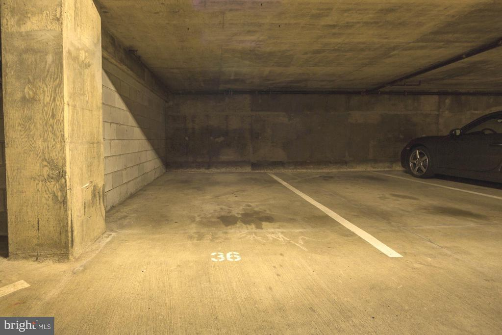 Parking Space 36 Conveys - 2400 CLARENDON BLVD #114, ARLINGTON