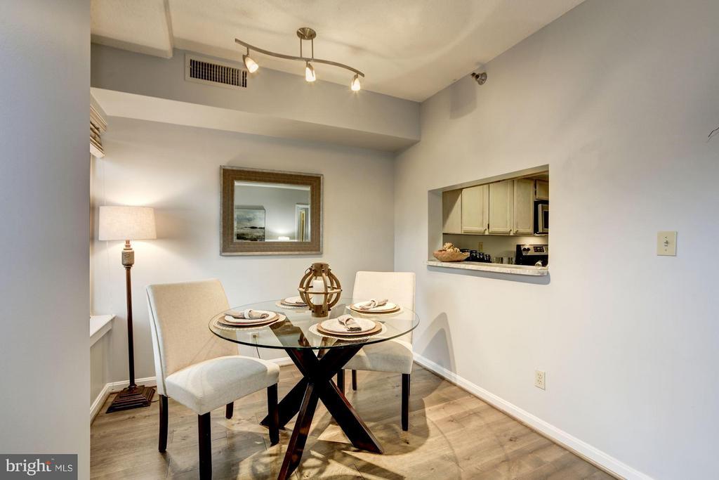 Dining Room - 2400 CLARENDON BLVD #114, ARLINGTON