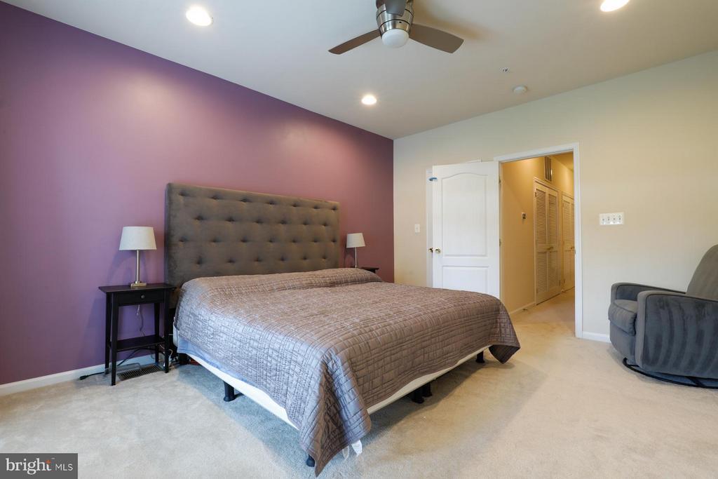 Bedroom (Master) - 12412A LIBERTY BRIDGE RD #A, FAIRFAX