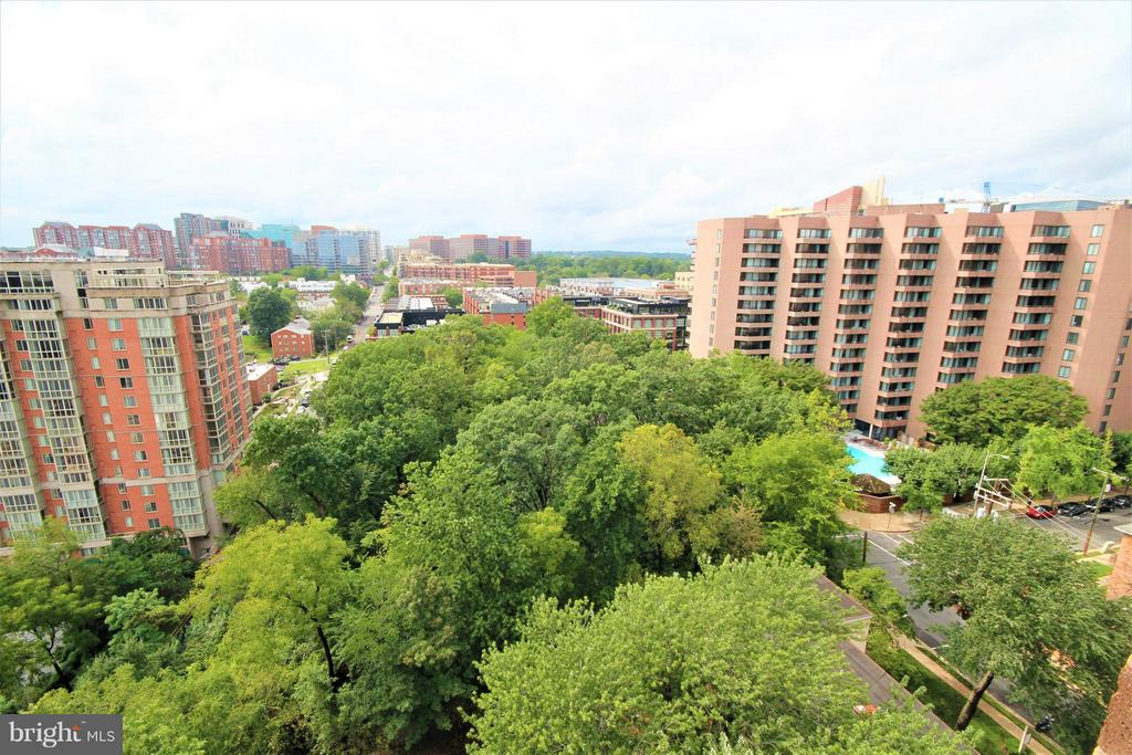 View from Kitchen - 1600 OAK ST #1727, ARLINGTON