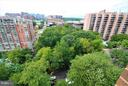 View from Dining Room - 1600 OAK ST #1727, ARLINGTON