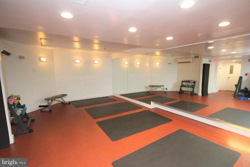 Fitness Center Functional Fitness/Stretching area - 1600 OAK ST #1727, ARLINGTON