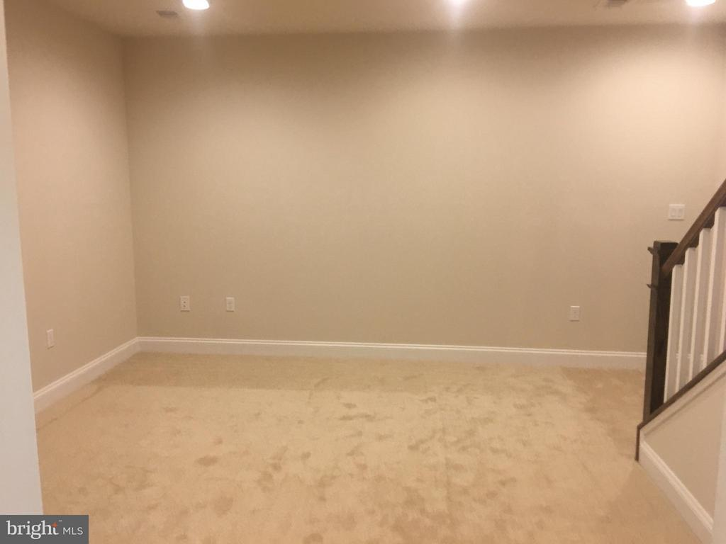 Finished Lower Level Recreation Room - 6 7TH ST W, FREDERICK
