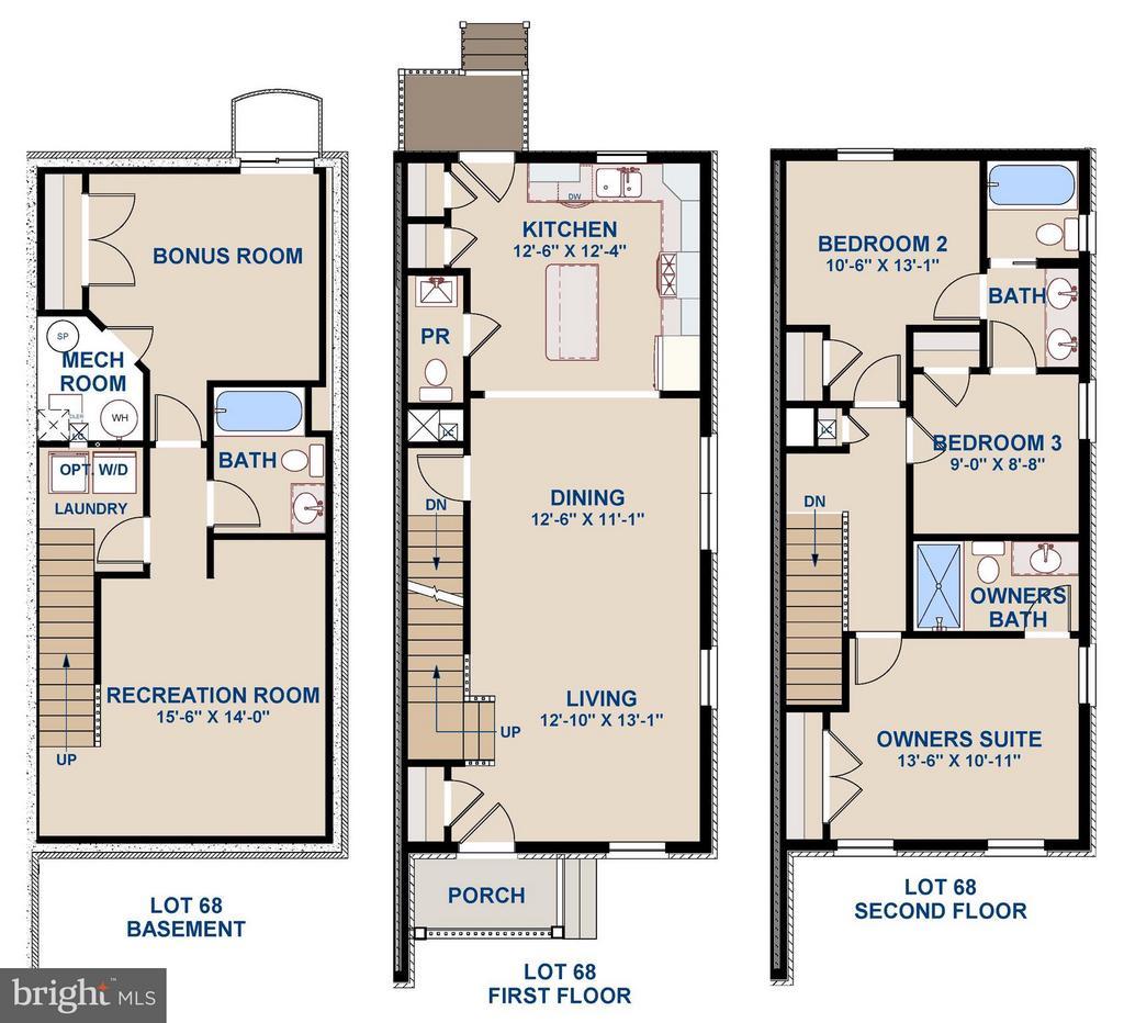 Floor Plan - 6 7TH ST W, FREDERICK