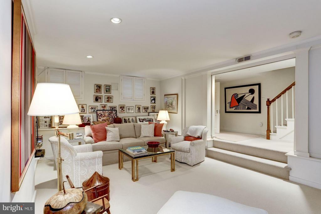Lower Level Family Room - 3005 O ST NW, WASHINGTON