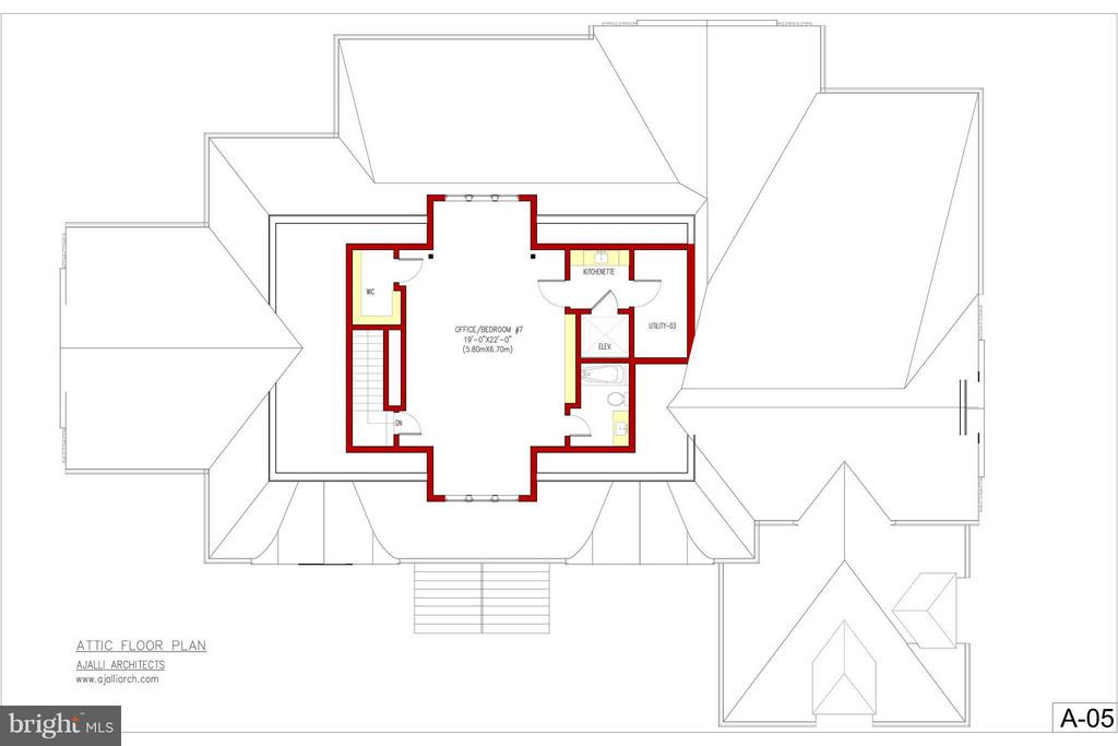 top floor plan - 12025 EVENING RIDE DR, POTOMAC