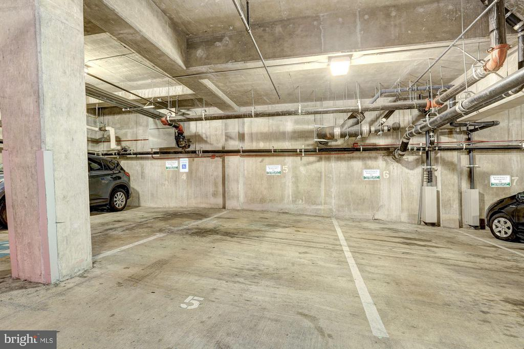3 Assigned Parking Spaces #5, 6 & 9 - 2002 MASSACHUSETTS AVE NW #2A, WASHINGTON