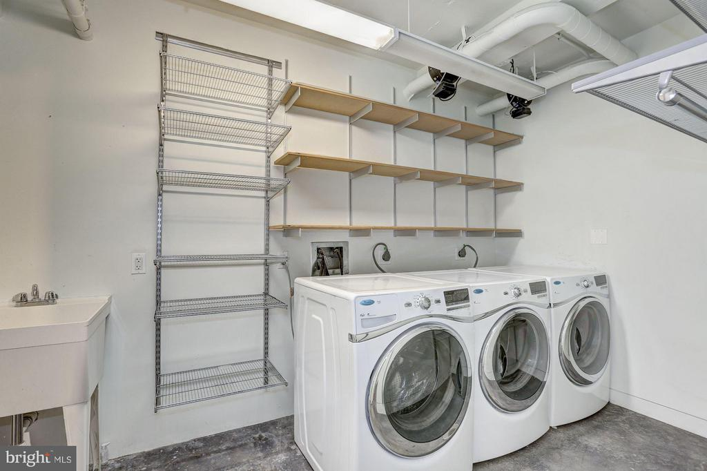 Laundry Room - 2002 MASSACHUSETTS AVE NW #2A, WASHINGTON