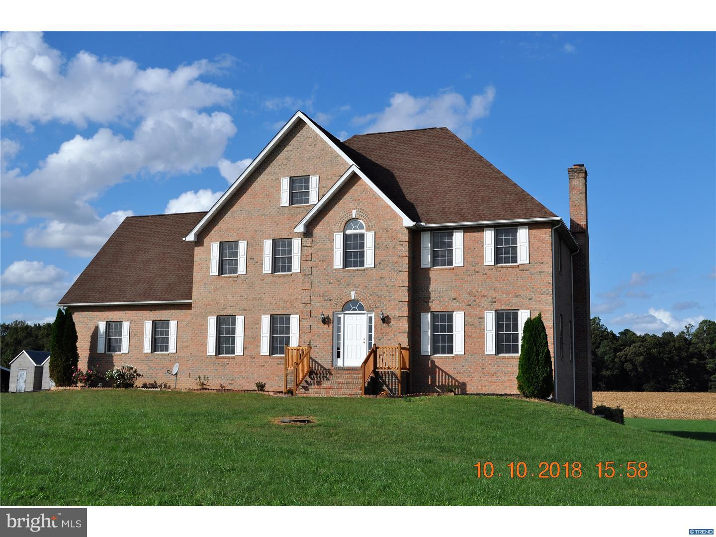 Single Family Home for Sale at 1451 MIDSTATE Road Felton, Delaware 19943 United States