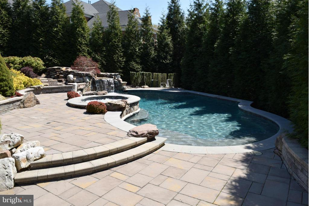 Pool Area - 1063 SILENT RIDGE CT, MCLEAN