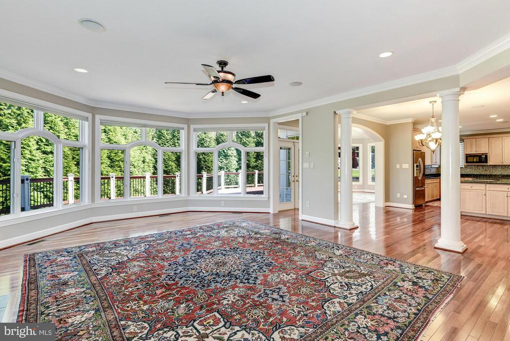 Family Room - 1063 SILENT RIDGE CT, MCLEAN