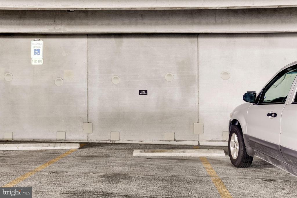 Parking Space 203 - 501 HUNGERFORD DR #374, ROCKVILLE