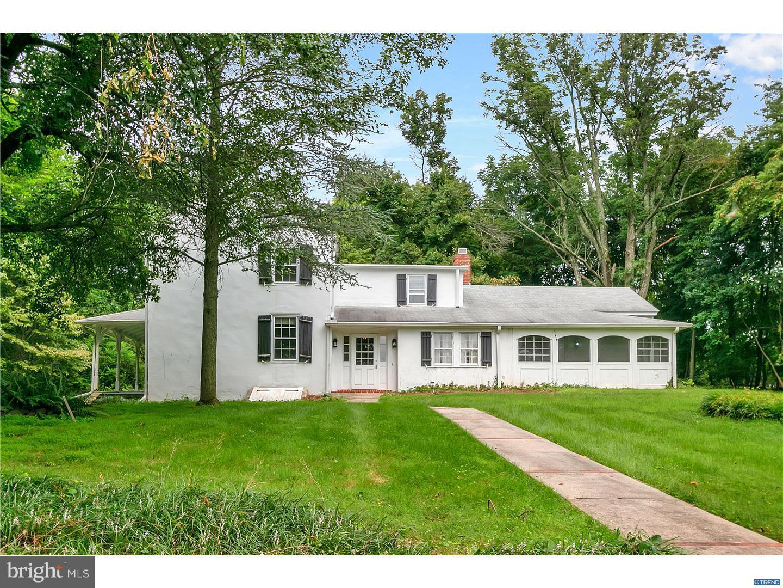 Maison unifamiliale pour l Vente à 301 OLD KENNETT Road Centreville, Delaware 19807 États-Unis