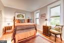 Large owner's bedroom with walk-in-closet - 2301 CONNECTICUT AVE NW #2C, WASHINGTON