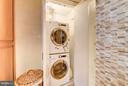 Washer/dryer - 2301 CONNECTICUT AVE NW #2C, WASHINGTON