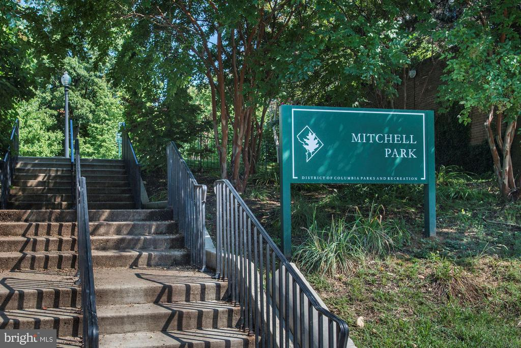 Mitchell Park, at 23rd and S St - 2301 CONNECTICUT AVE NW #2C, WASHINGTON