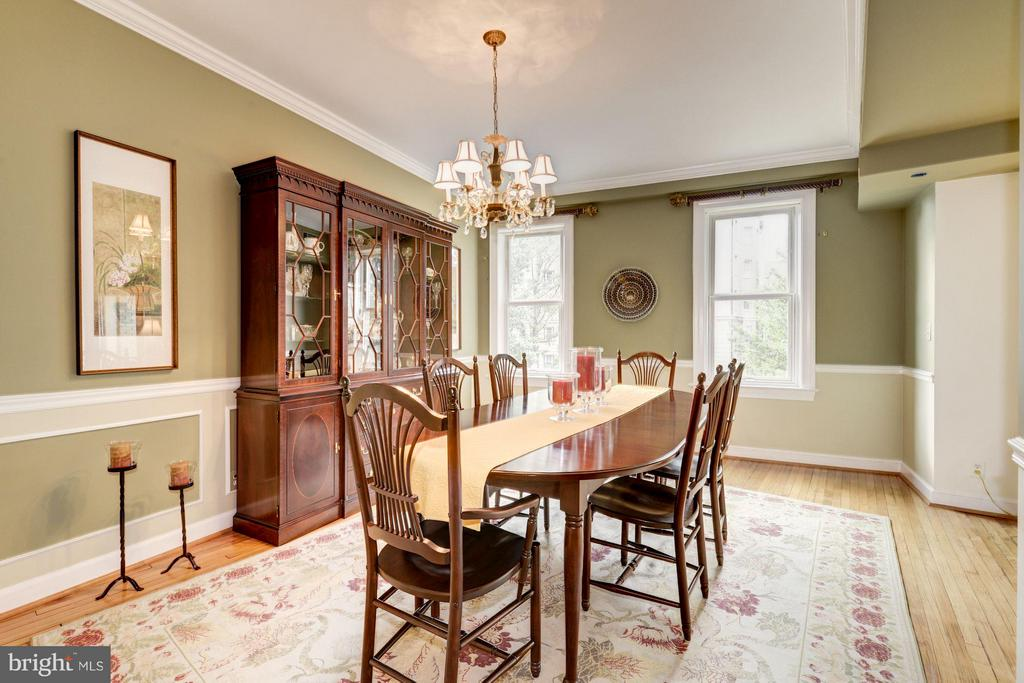 Dining Room - 2301 CONNECTICUT AVE NW #2C, WASHINGTON