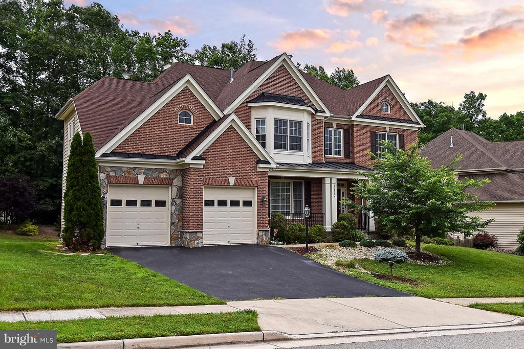 Exterior (Front) - 12218 TIDESWELL MILL CT, WOODBRIDGE