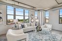 Gorgeous Living Area - 2125 14TH ST NW #815, WASHINGTON