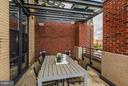 Expansive Terrace off of both Bedrooms - 2125 14TH ST NW #815, WASHINGTON