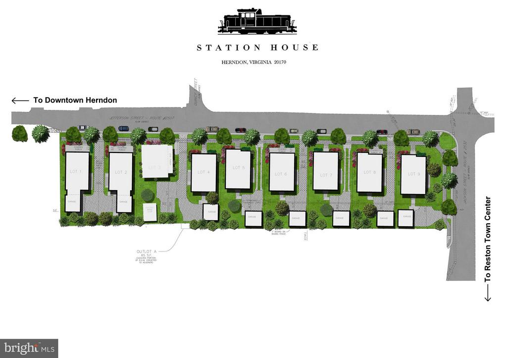 Site Plan - 0 JEFFERSON ST, HERNDON