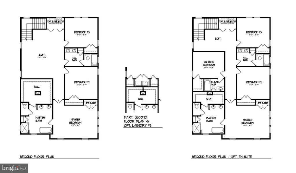 Upper Level Interior Floor Plan - 0 JEFFERSON ST, HERNDON