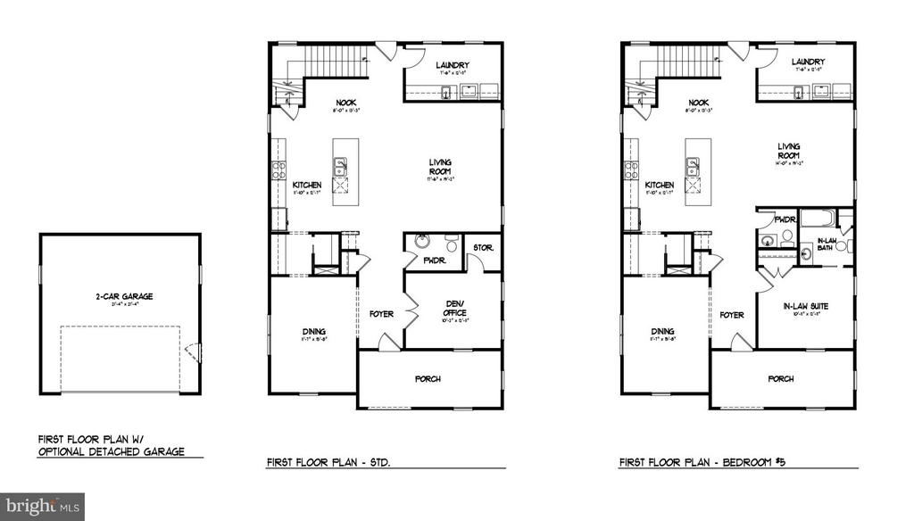 Main Level Floor Plan - 0 JEFFERSON ST, HERNDON