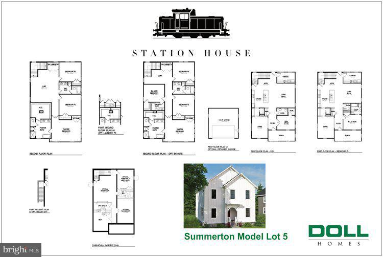 Summerston Model Interior Floor Plan - 0 JEFFERSON ST, HERNDON