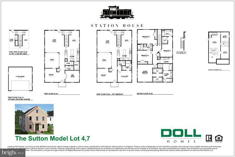 Sutton Model Interior Floor Plan - 01 JEFFERSON ST, HERNDON