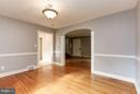 Dining Room - 9700 MARSHALL AVE, SILVER SPRING