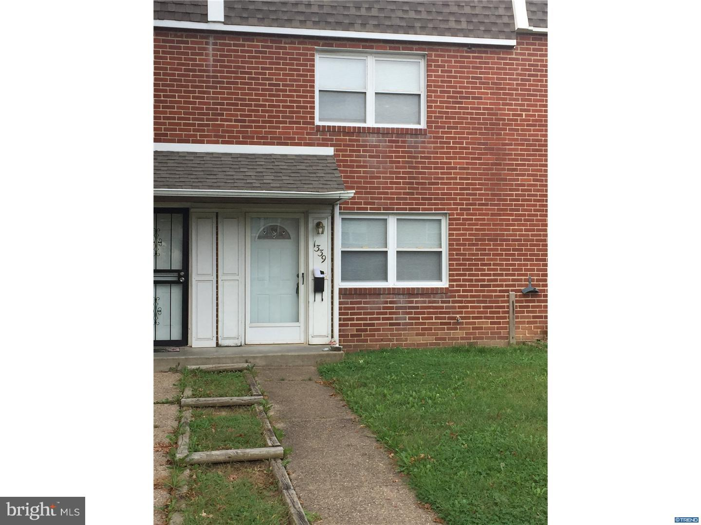 Single Family Home for Sale at 1339 MAPLE Avenue Elsmere, Delaware 19805 United States