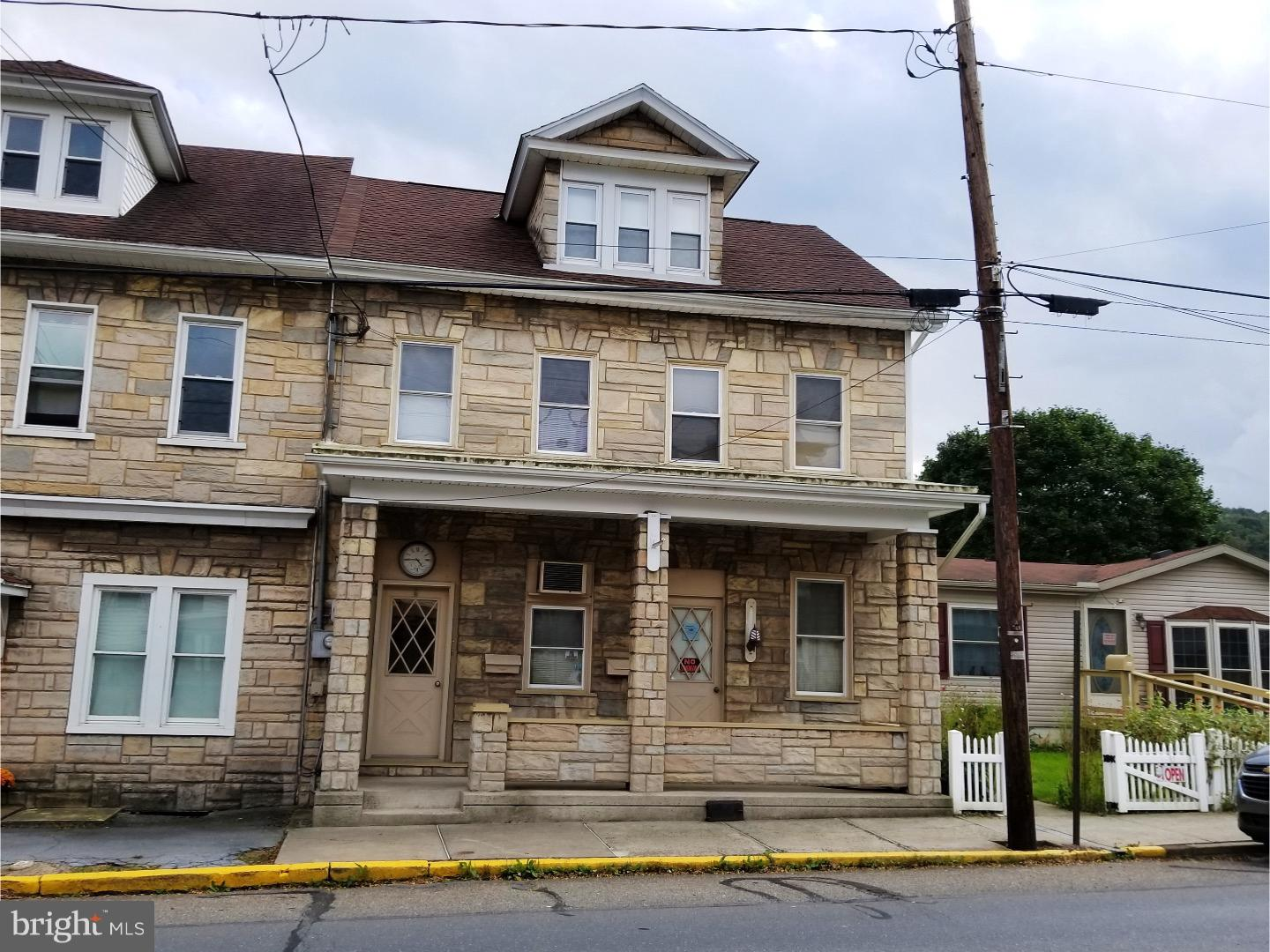 Single Family Home for Sale at 103 W MAIN Street Tremont, Pennsylvania 17981 United States