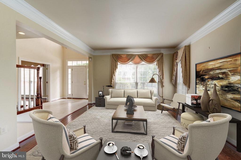 Living Room - 11864 CHANCEFORD DR, WOODBRIDGE