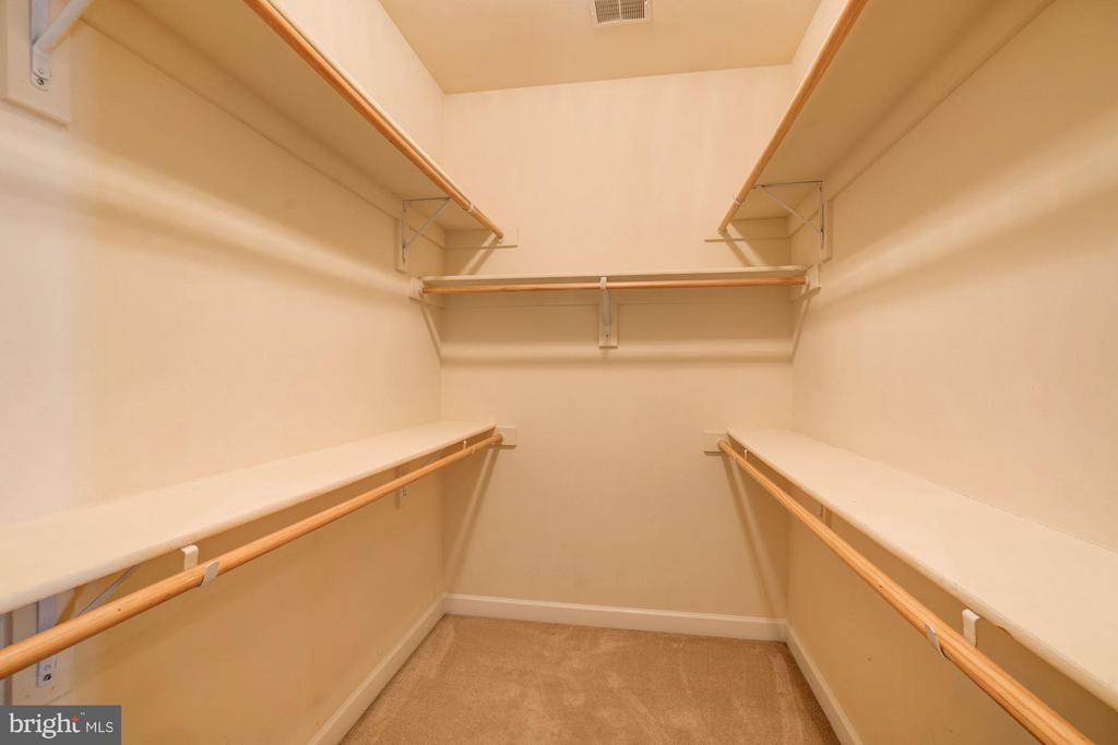 1 of 2 Walk in closets - 11864 CHANCEFORD DR, WOODBRIDGE