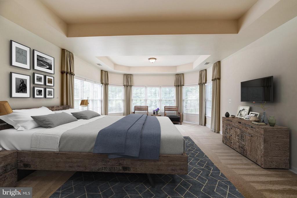 Bedroom (Master) - 11864 CHANCEFORD DR, WOODBRIDGE