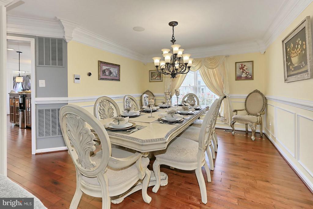 Dining Room - 13551 SHARDLOW CT, BRISTOW
