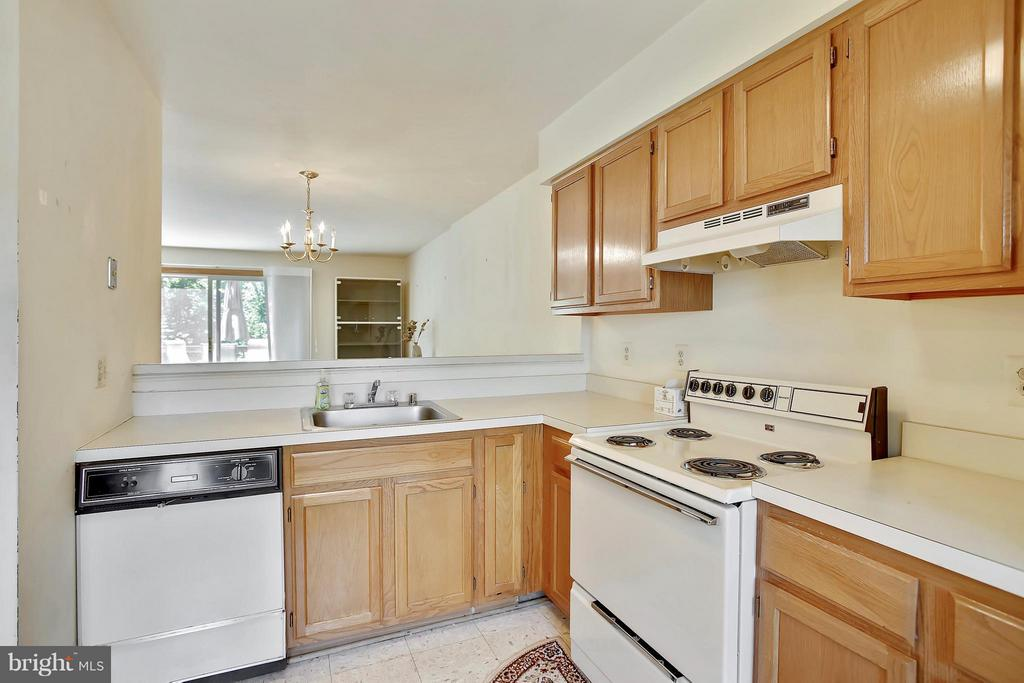 Kitchen - 15656 CLIFF SWALLOW WAY, ROCKVILLE